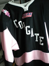 ECAC COLGATE UNIVERISTY GAME ISSUED SPECIALTY CANCER AWARENESS HOCKEY JERSEY