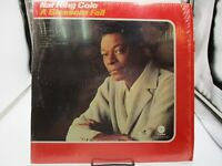 Nat King Cole - A Blossom Fell Vinyl LP DF-505 Capitol Re-issue Shrink VG+ c VG+