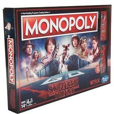 Stranger Things Monopoly Family Board Game 2-8 Players 14+