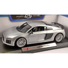 Maisto Audi R8 V10 Plus 1:18 Diecast Model Car Silver