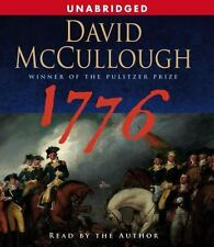 1776 by David McCullough Audiobook (2005, CD, Unabridged) Brand-NEW Sealed