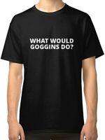 What Would Goggins Do Men's Black T-Shirt Tees