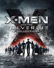 X-Men and The Wolverine Collection (Blu-ray Disc, 2013, 6-Disc Set)