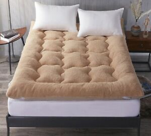 High Quality Lamb Wool Folding Mattress Comfortable Floor Mattress Winter Warm
