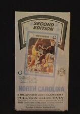 NORTH CAROLINA TAR HEELS 2nd ADDITION COLLEGIATE COLLECTION BASKETBALL CARDS