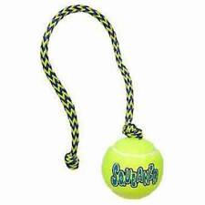 NEW KONG Air Dog Medium Squeaker Ball with Rope