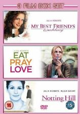 NOTTING HILL MY BEST FRIENDS WEDDING & EAT PRAY LOVE JULIA ROBERTS UK DVD L NEW