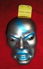 1980 Marvel SILVER SURFER Plastic Mask - FESTA - Old Store Stock - French