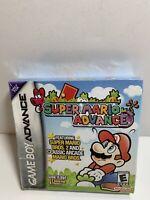 Super Mario Advance Nintendo Game Boy Advance GBA Sealed NEW - *Crushed Box*