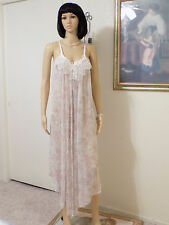 JONQUIL by DIANE SAMANDI Neiman-Marcus vintage negligee LILAC GARDEN sz M medium