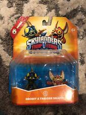 Skylanders Trap Team Drobit Trigger Snappy 2 Pack Mini Figures 2014 Activision