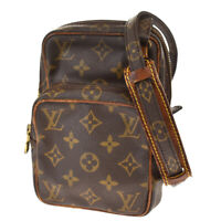Auth Louis Vuitton Mini Amazon Shoulder Bag Monogram Leather BN M45238 30BS030