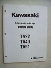 Kawasaki Ta 22 40 51 2 Stroke Air Cooled Gasoline Engine Workshop Manual