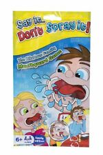 Game Say It Don't Spray It The Mouth guard Board Game Family Travel Pack