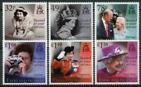 Falkland Islands Royalty Stamps 2021 MNH Queen Elizabeth II 95th Birthday 6v Set