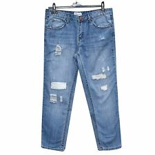 Ladies Stretch Faded Ripped Jeans UK SIzes 10 12 14 16