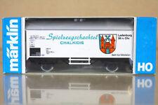 Marklin Märklin 4415 k8082 DB Caja Juguete chalkidis Kühlwagen NC