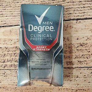 Degree Men's Deodorant Sport Strength Clinical Protection 1.7 Oz Exp 02/2021