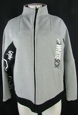 Chicago White Sox Men's Full Zipper Gray & Black Sweatshirt MLB