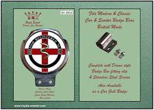 Royale Car Bar Badge + fittings - BRITISH REGISTERED NURSE - B1.2933