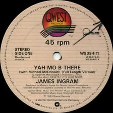 JAMES INGRAM Yah Mo Be There b/w Come A Da Machine (1983 U.K. 2 Track 12inch)