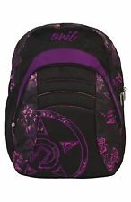 NEW TAGS Unit riders poison backpack school bag purple womens girls