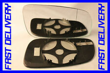 DOOR WING MIRROR GLASS HEATED BLIND SPOT RIGHT SKODA SUPERB TDI 2001-2007
