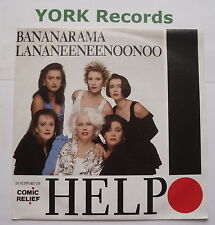 "BANANARAMA LA NA NEE NEE NOO NOO - Help - Excellent Con 7"" Single London LON 222"