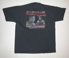 Vintage 90s Oscar De La Hoya Boxing T-Shirt Size Adult Large Floyd Mayweather