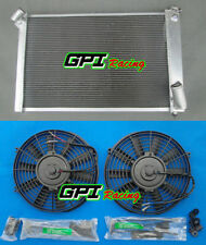1969-1972 Chevrolet Corvette Sm Block Champion 3 Row Core Aluminum Radiator +FAN