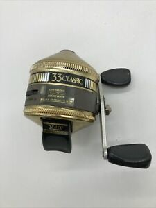 Zebco Gold 33 Classic Spincasting Reel Made in the USA