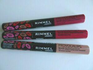 SEALED New Rimmel Provocalips 16HR Kissproof Liquid Lipstick **Choose Shade**