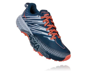 Hoka Womens Speedgoat 4 Wide Trail Running Shoe - Breathable, Additional Support