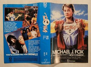 Teen Wolf [Cover/Sleeve Only] VHS 1985 Comedy Michael J. Fox Filmways / Vestron