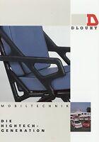 Dlouhy Mobiltechnik Prospekt 2000 KTW Rettungswagen Fahrzeugbau brochure