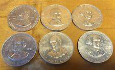 Lot 6 Shell's MR. PRESIDENT Coin Game: Washington-Polk-McKinley-Adams-Cleveland