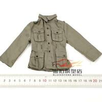 """1/6 Scale Original Dragon WWII German Coat For 12"""" Action Figure"""