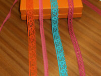Beautiful Rich Stretch Lace Trims 4 x 2 metre - Ideal small crafts/Dolls/Cards