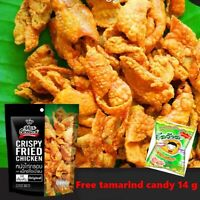 Crispy Fried Chicken Skin Original Flavor X4 Halal Protein Snack Party Camping