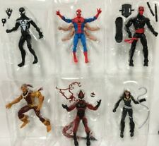 6X Marvel Legends Spider-Man Symbiote Night Thrasher Red Goblin NO KINGPIN BAF