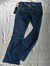Miss Sixty BLUE JEANS STRETCH coup w25/l32 extra Low Waist Slim Fit Flare Leg