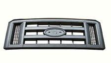 Grille Textured Black 2008-2016 Ford Van Econoline E150 E250 E350 E450 FO1200509