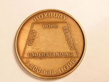 Alcoholics Anonymous Sobriety Coin:  Roxbury