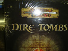 NEW!  DIRE TOMBS DT 6 DUNGEON TILES Dungeons and Dragons  3.5