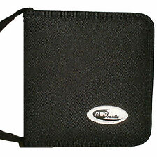 NEO media 24 Capacity CD / DVD Wallet NYLON Storage CARRY CASE