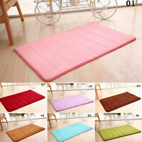 Microfibre Memory Foam Bathroom Shower Bath Mat With Non Slip Back TOP Quality