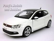 Volkswagen VW  Polo GTI Mark 5 (Mk5) 1/24 Scale Diecast Model - White