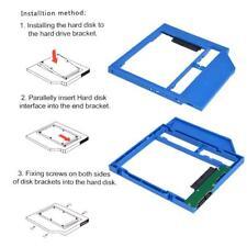 Universal SATA 3.0 9.0mm 2nd HDD Caddy SSD Drive Bracket for CD DVD Optical Bay
