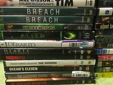 "DVD "" Action/Comedy  Movies"" Preowned Condition"