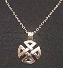 LOOK Celtic Maltese Cross Silver 925 Pendant Charm Jewelry